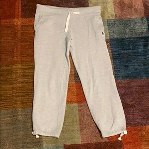 Grey Sweatpants by Polo Ralph Lauren.